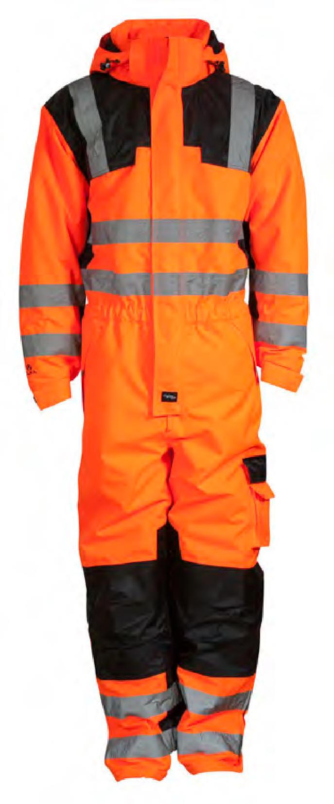 28d46fa2 Elka Visible Xtreme coverall. Vinter heldragt med termofoer, EN ISO20471  certificeret.